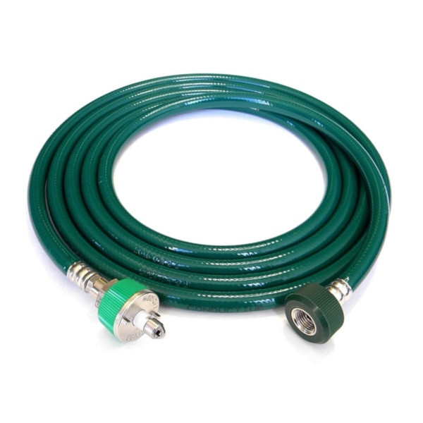O2 Hose Ohmeda Male 1240 DISS Hand Tight 10 Ft