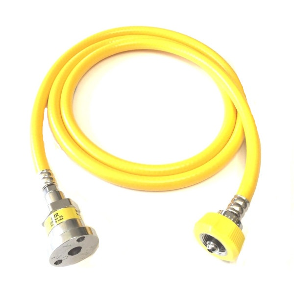 Air Hose Ohmeda Female 1160 DISS Hand Tight 5 Ft