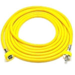 Air Hose Ohmeda Male 1160 DISS Hand Tight 20 Ft