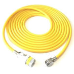 Air Hose Schrader Female 1160 DISS Female 20 Ft