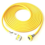 Air Hose Schrader Female 1160 DISS Hand Tight 20 Ft
