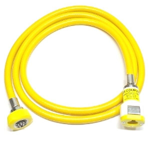Air Hose Puritan-Bennett Female DISS Hand Tight 5 Ft