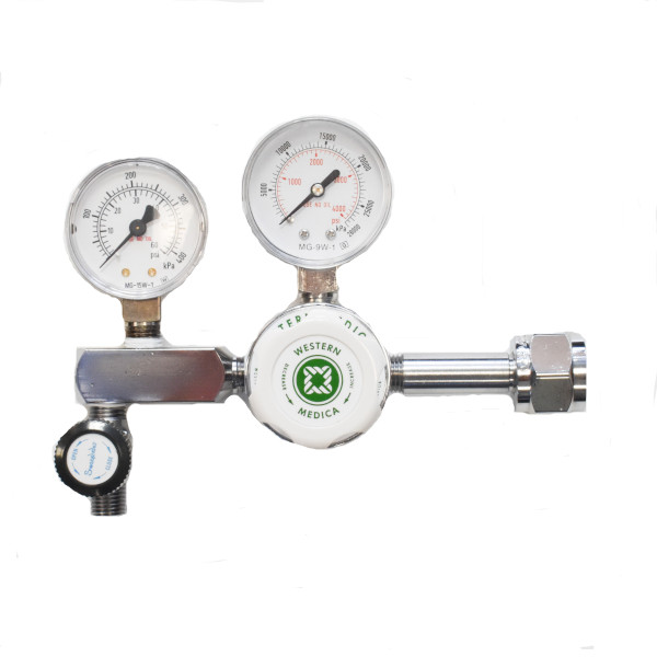 Western Medica M1-320-PGB CO2 Regulator