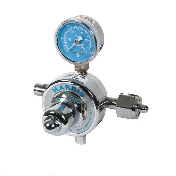 Belmed 6002 N2O Regulator Single High Pressure Gauge