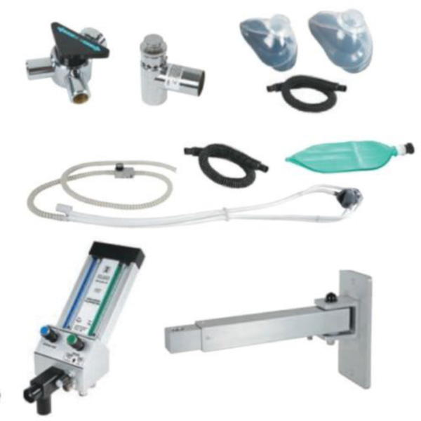 Belmed 9028 Oral Surgery Flowmeter System Telescoping Arm