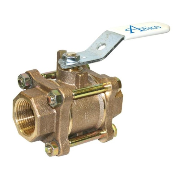 Amico V-X-VLV-NIB-07T Threaded Ball Valve