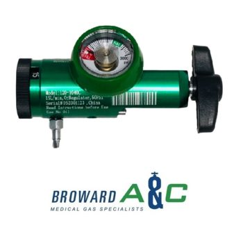 cga 870 oxygen regulator 0-15 lpm with barbed outlet